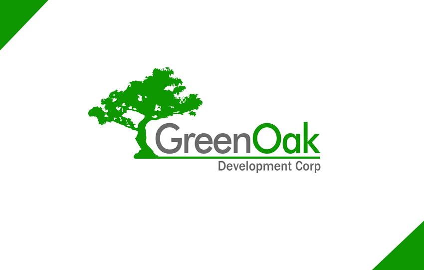 Logo Design by Respati Himawan - Entry No. 109 in the Logo Design Contest Unique Logo Design Wanted for Green Oak Development Corp..