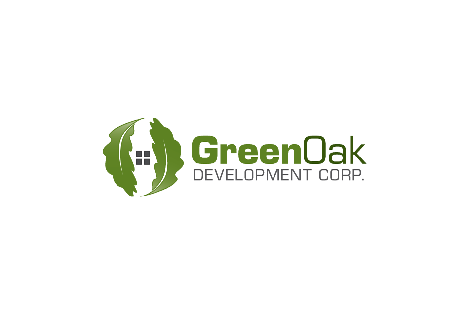 Logo Design by Dipin Bishwakarma - Entry No. 110 in the Logo Design Contest Unique Logo Design Wanted for Green Oak Development Corp..