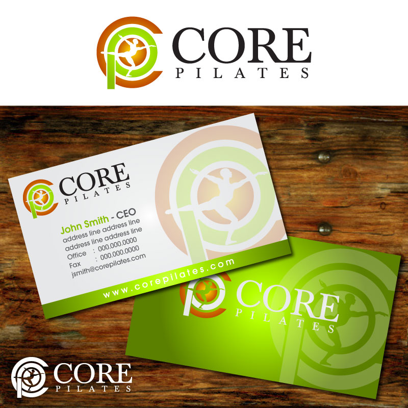 Logo Design by Rommel Delos Santos - Entry No. 153 in the Logo Design Contest Core Pilates Logo Design.