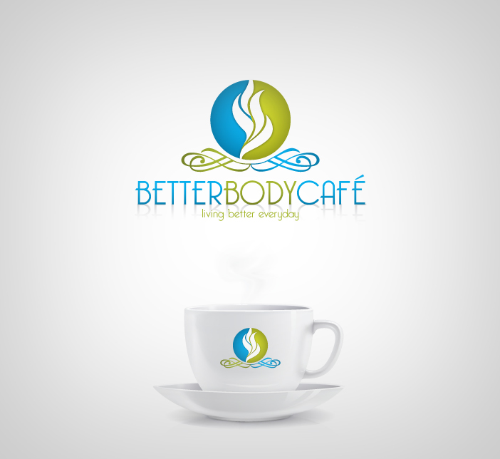 Logo Design by nausigeo - Entry No. 3 in the Logo Design Contest New Logo Design for Better Body Cafe.