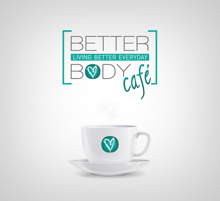 Logo Design by nausigeo - Entry No. 4 in the Logo Design Contest New Logo Design for Better Body Cafe.