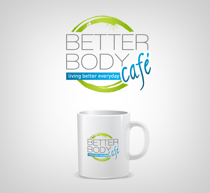 Logo Design by nausigeo - Entry No. 5 in the Logo Design Contest New Logo Design for Better Body Cafe.