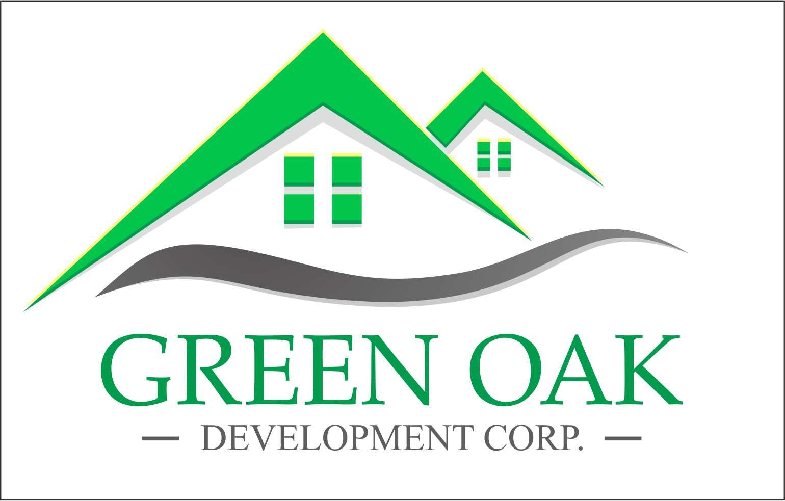 Logo Design by Private User - Entry No. 112 in the Logo Design Contest Unique Logo Design Wanted for Green Oak Development Corp..