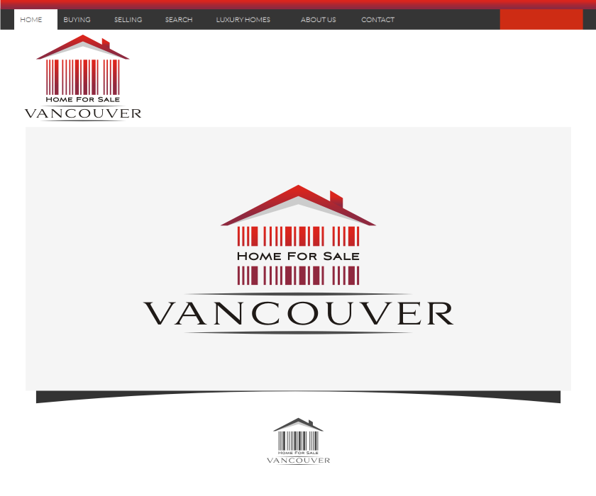 Logo Design by graphicleaf - Entry No. 10 in the Logo Design Contest New Logo Design for HomeForSaleVancouver.
