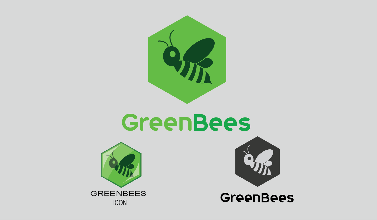 Logo Design by Private User - Entry No. 17 in the Logo Design Contest Greenbees Logo Design.