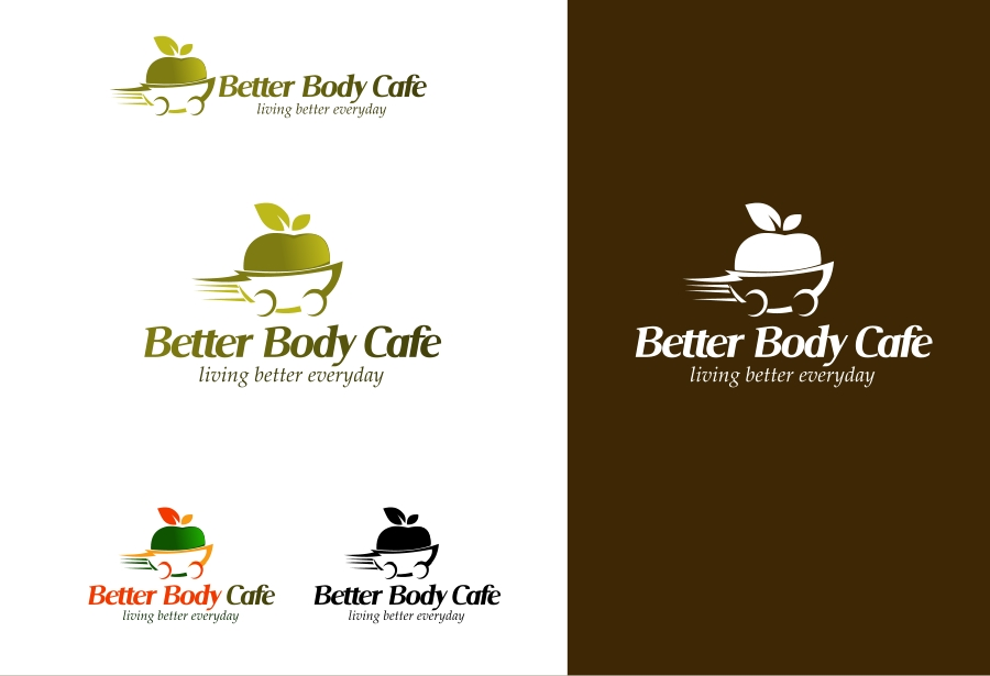 Logo Design by Private User - Entry No. 6 in the Logo Design Contest New Logo Design for Better Body Cafe.