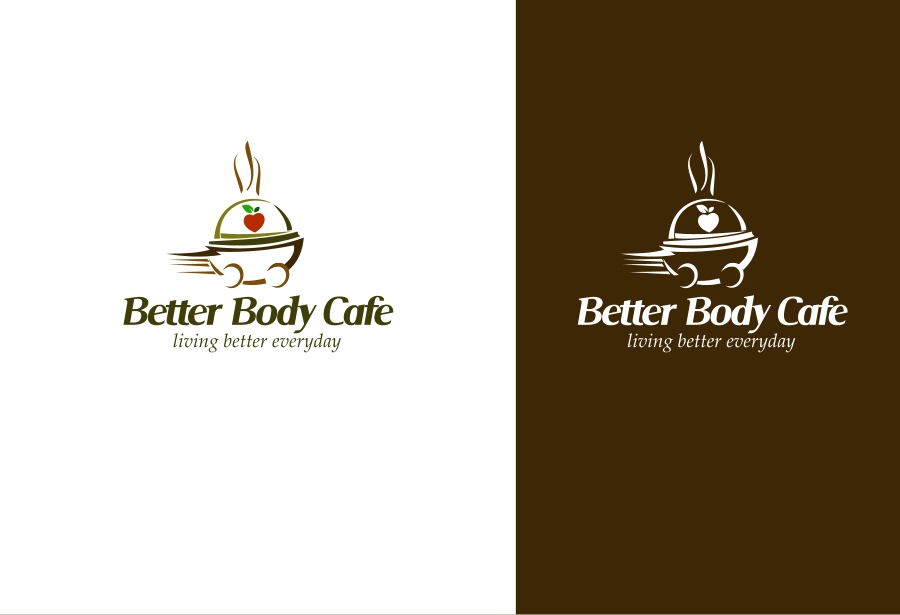 Logo Design by Private User - Entry No. 7 in the Logo Design Contest New Logo Design for Better Body Cafe.