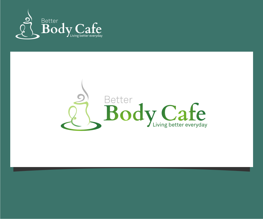 Logo Design by graphicleaf - Entry No. 8 in the Logo Design Contest New Logo Design for Better Body Cafe.