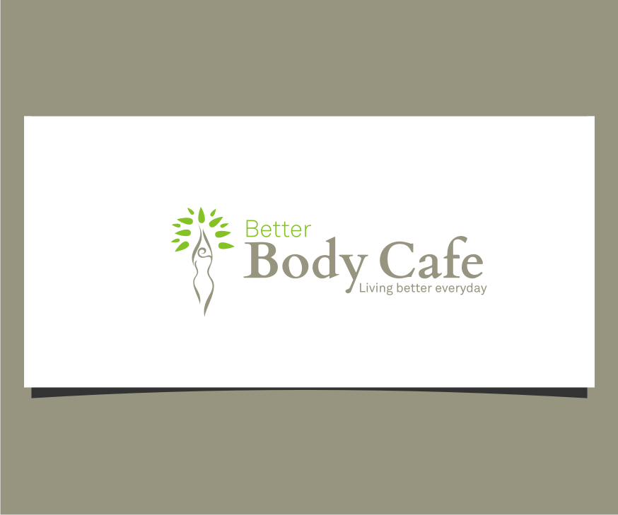 Logo Design by graphicleaf - Entry No. 9 in the Logo Design Contest New Logo Design for Better Body Cafe.