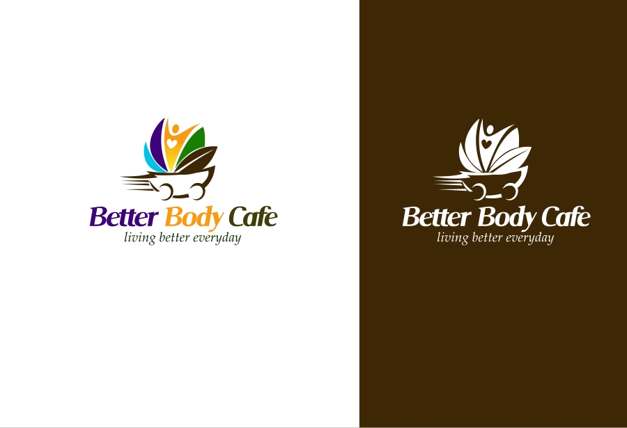 Logo Design by Private User - Entry No. 12 in the Logo Design Contest New Logo Design for Better Body Cafe.