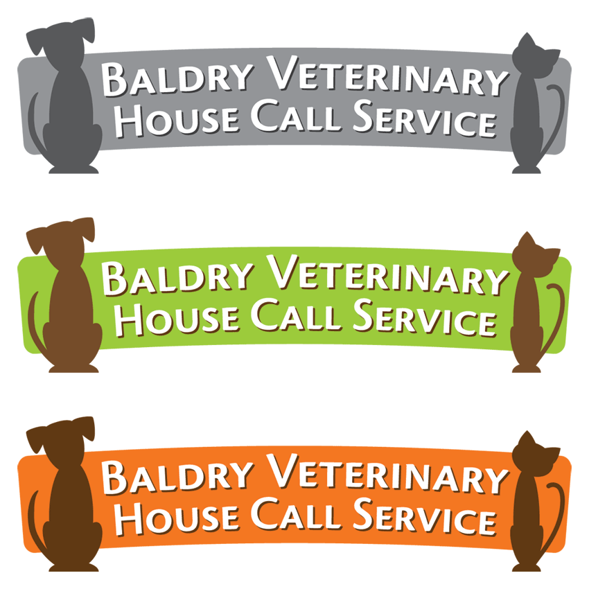 Logo Design by 4cCameron - Entry No. 26 in the Logo Design Contest Captivating Logo Design for Baldry Veterinary House Call Service.