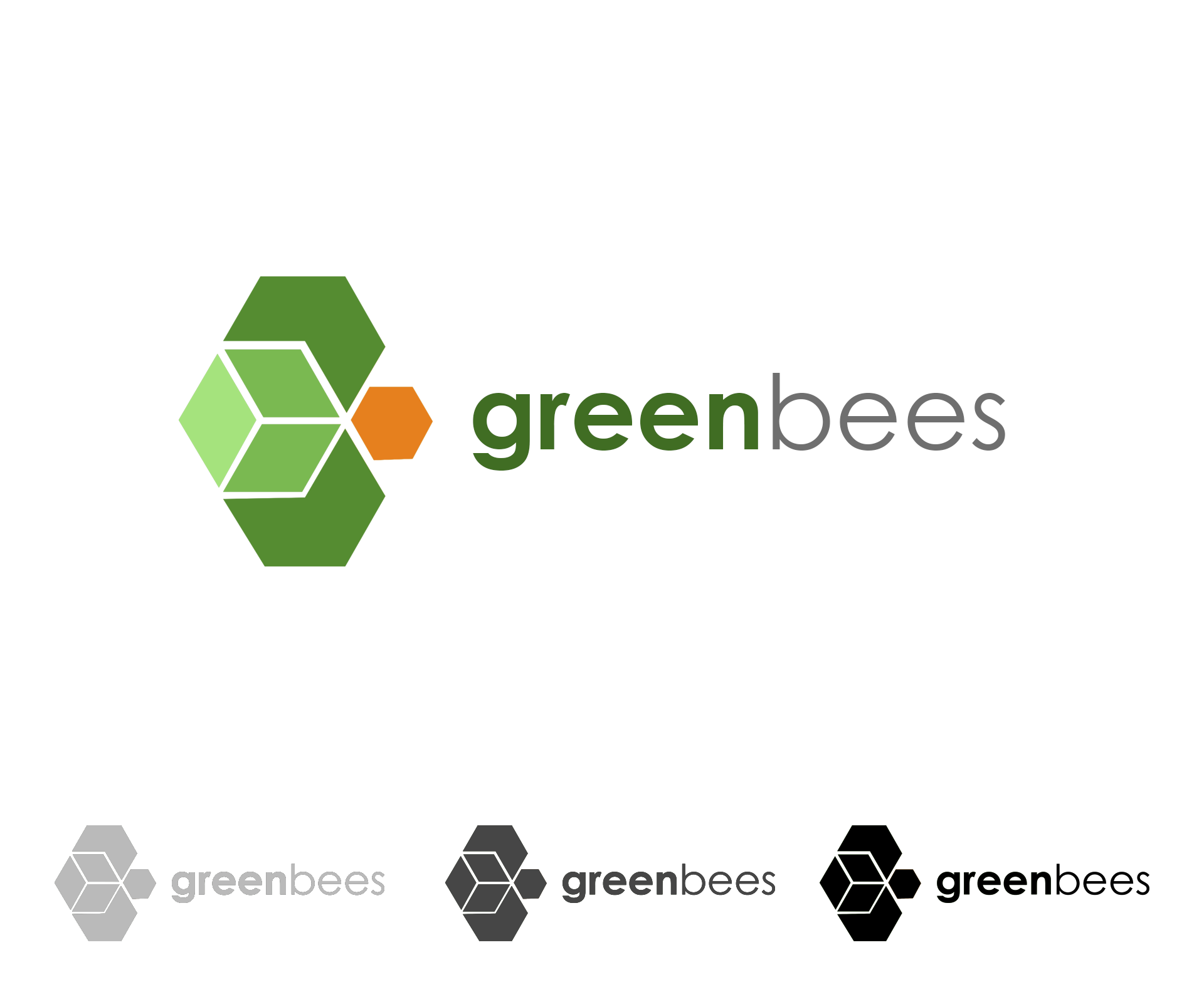 Logo Design by Private User - Entry No. 21 in the Logo Design Contest Greenbees Logo Design.