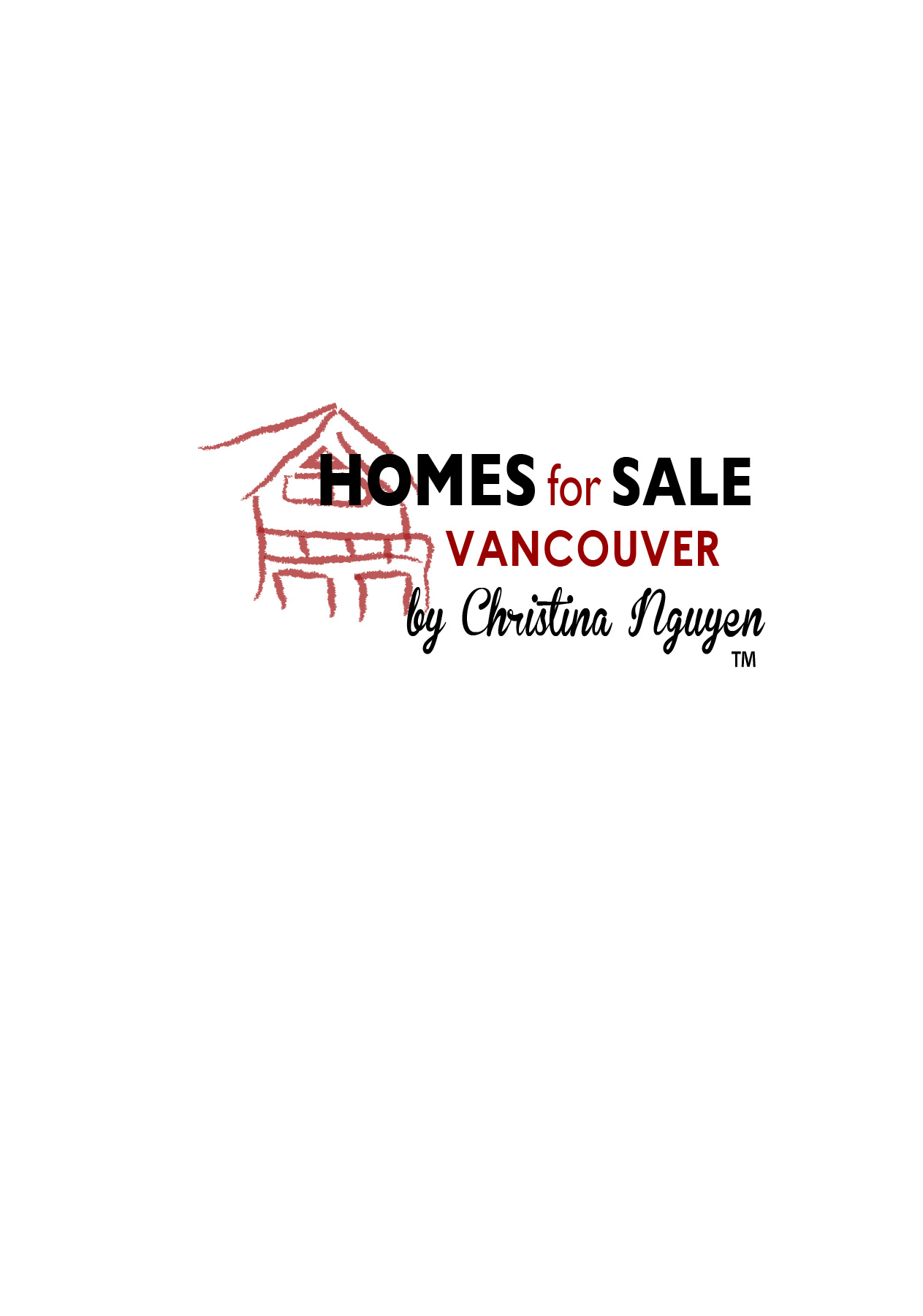 Logo Design by Nancy Grant - Entry No. 22 in the Logo Design Contest New Logo Design for HomeForSaleVancouver.