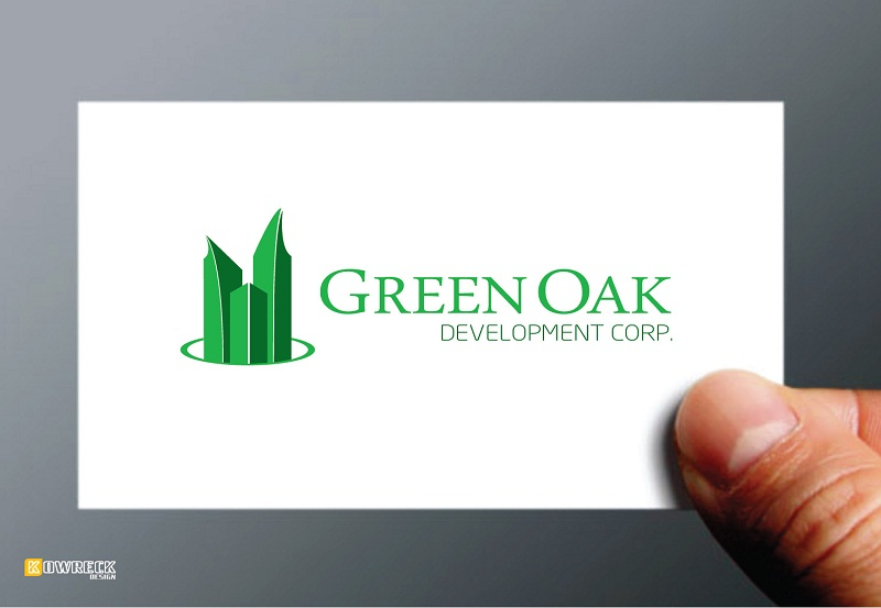 Logo Design by kowreck - Entry No. 114 in the Logo Design Contest Unique Logo Design Wanted for Green Oak Development Corp..
