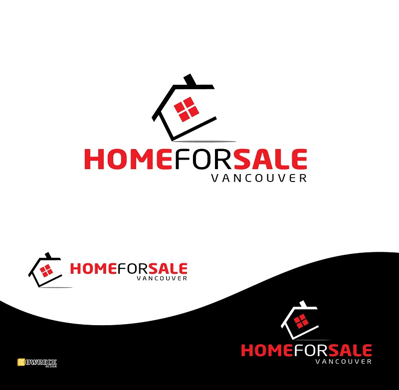 Logo Design by kowreck - Entry No. 26 in the Logo Design Contest New Logo Design for HomeForSaleVancouver.