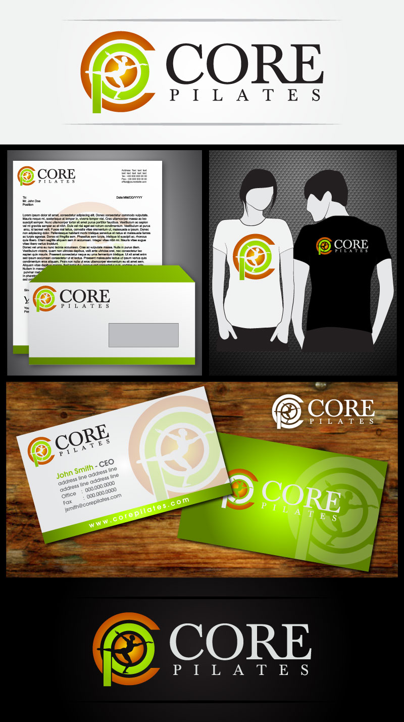 Logo Design by Rommel Delos Santos - Entry No. 164 in the Logo Design Contest Core Pilates Logo Design.