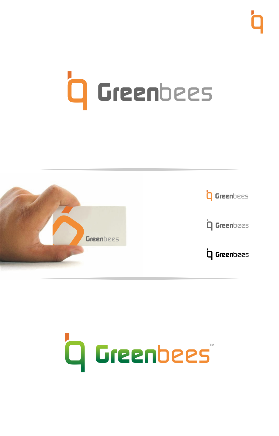 Logo Design by Mitchnick Sunardi - Entry No. 24 in the Logo Design Contest Greenbees Logo Design.