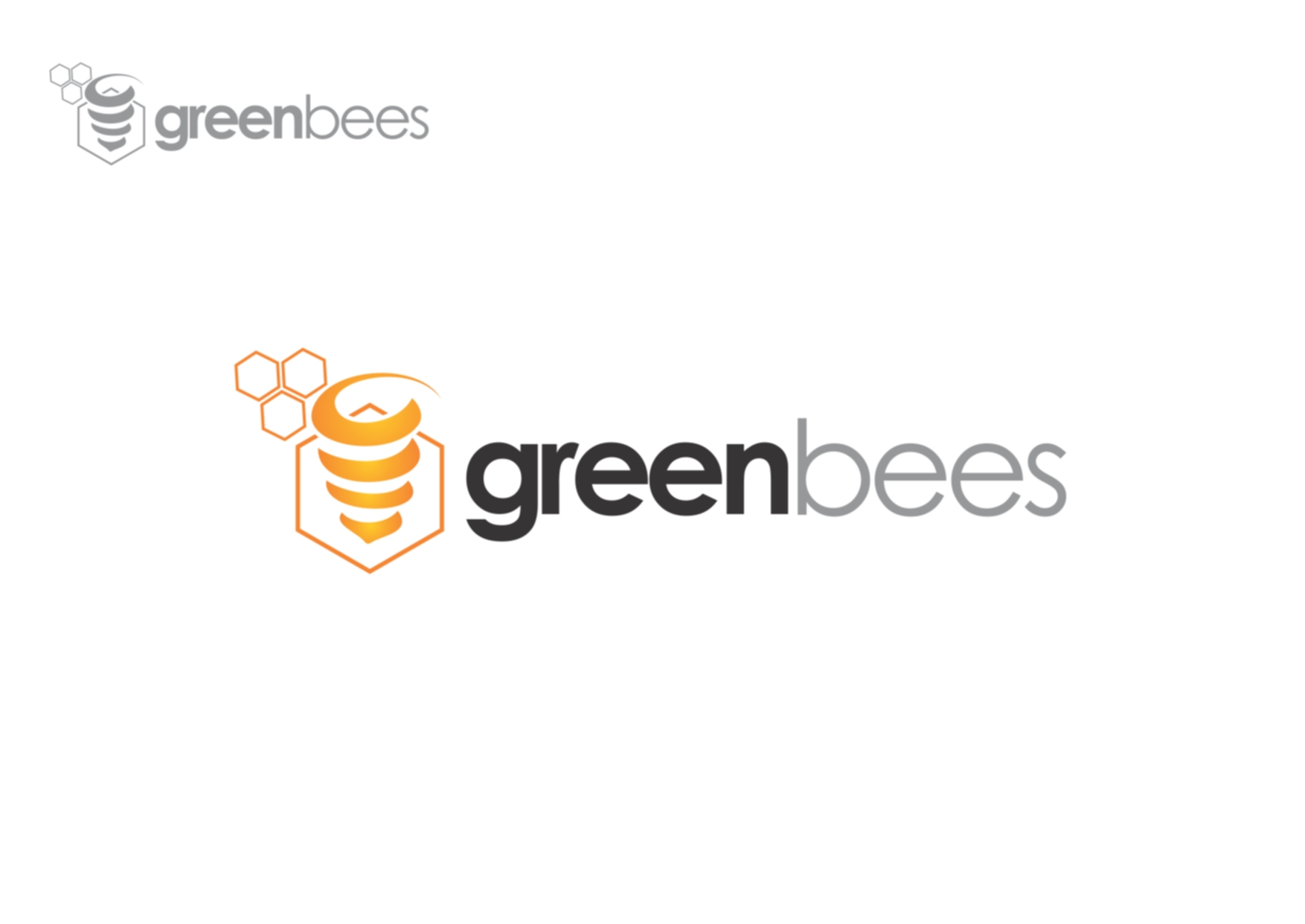 Logo Design by Private User - Entry No. 25 in the Logo Design Contest Greenbees Logo Design.