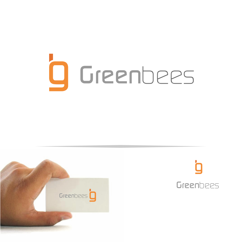 Logo Design by Mitchnick Sunardi - Entry No. 27 in the Logo Design Contest Greenbees Logo Design.