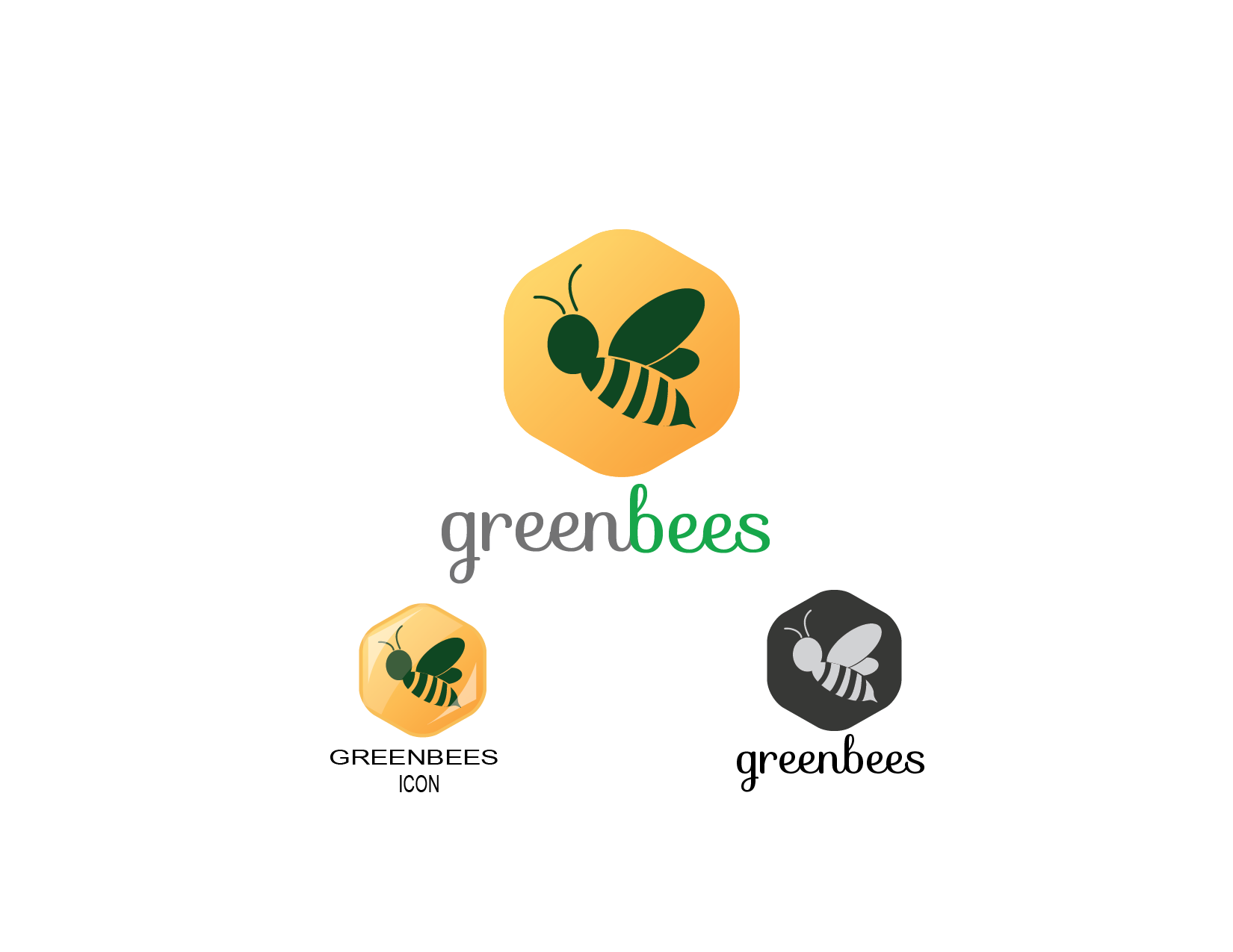 Logo Design by Private User - Entry No. 28 in the Logo Design Contest Greenbees Logo Design.