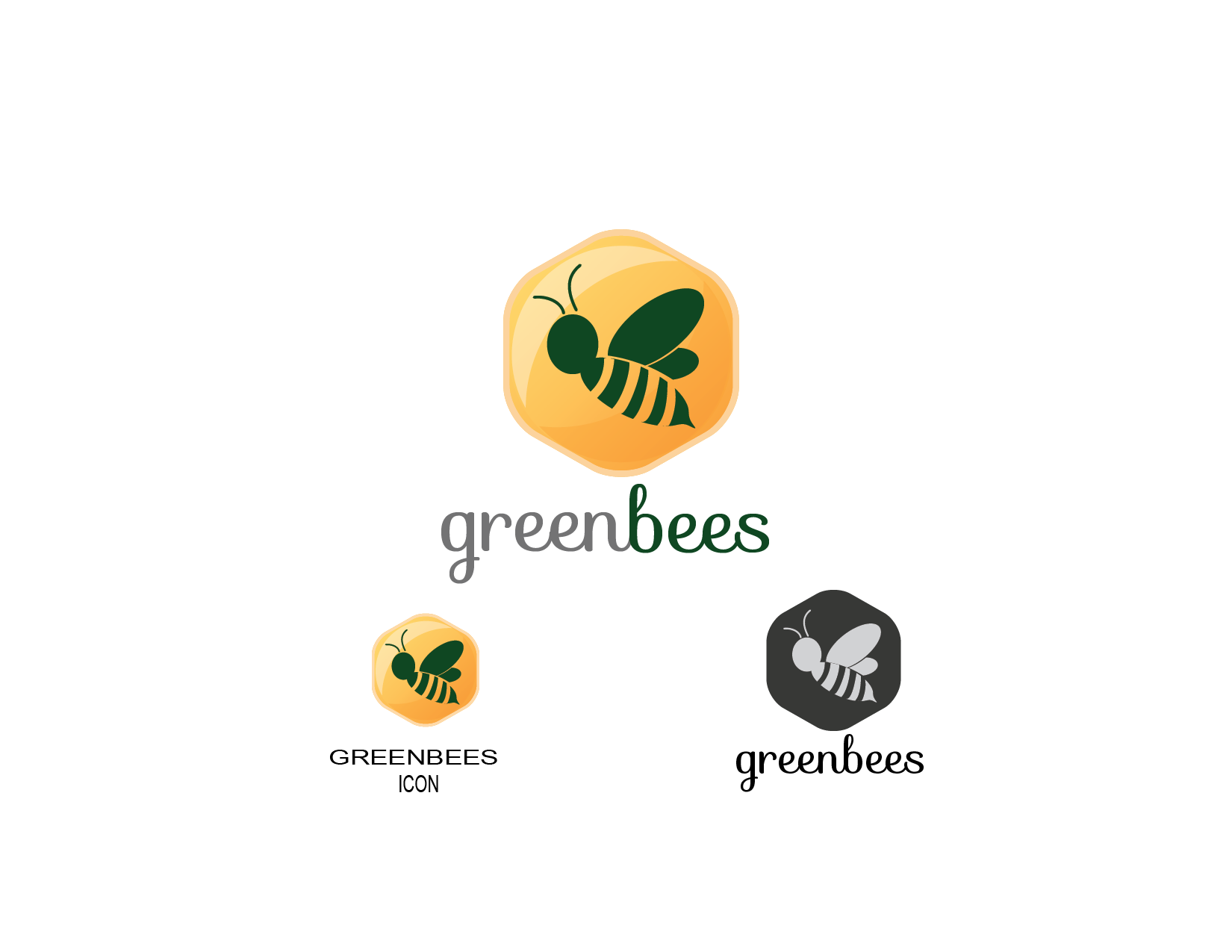 Logo Design by Private User - Entry No. 30 in the Logo Design Contest Greenbees Logo Design.