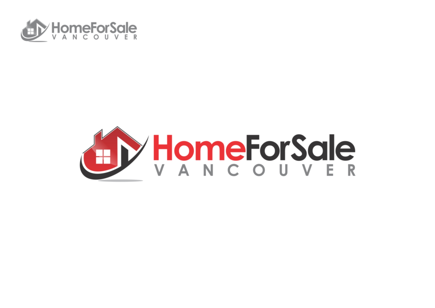 Logo Design by Private User - Entry No. 30 in the Logo Design Contest New Logo Design for HomeForSaleVancouver.