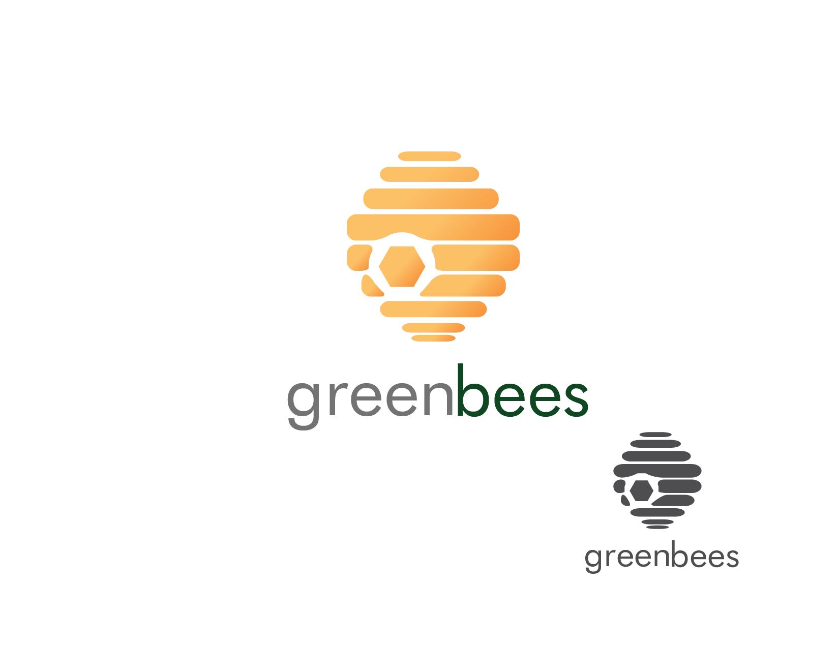 Logo Design by Private User - Entry No. 33 in the Logo Design Contest Greenbees Logo Design.