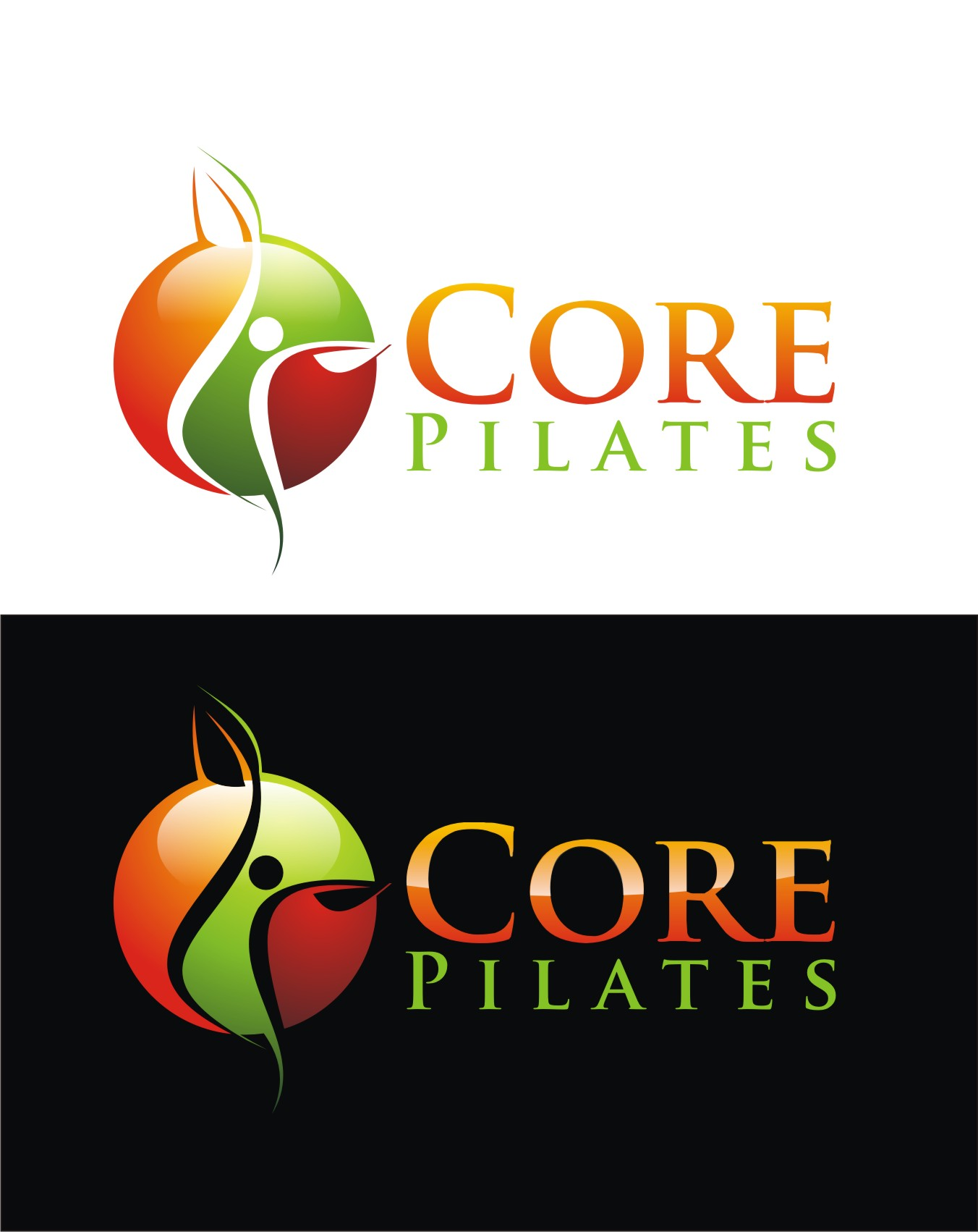Logo Design by Reivan Ferdinan - Entry No. 176 in the Logo Design Contest Core Pilates Logo Design.