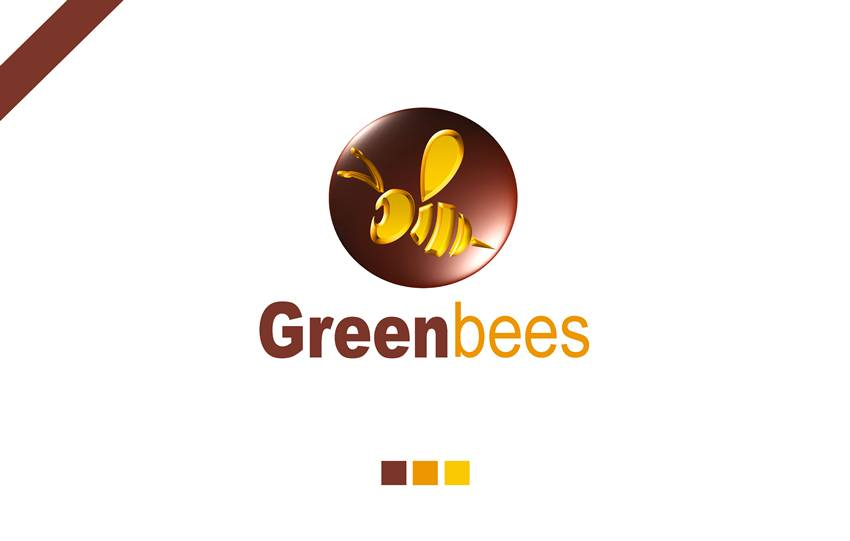 Logo Design by Respati Himawan - Entry No. 35 in the Logo Design Contest Greenbees Logo Design.