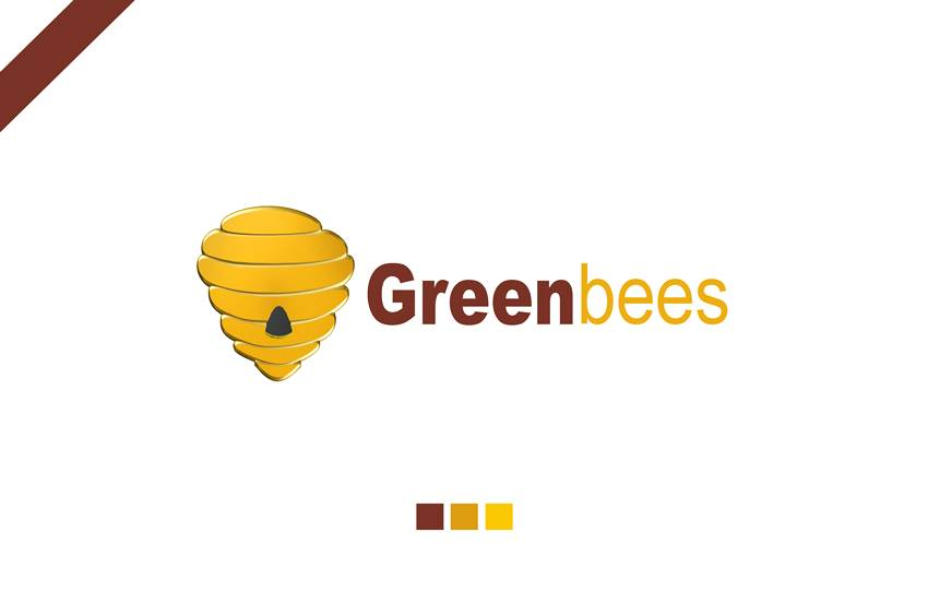 Logo Design by Respati Himawan - Entry No. 36 in the Logo Design Contest Greenbees Logo Design.