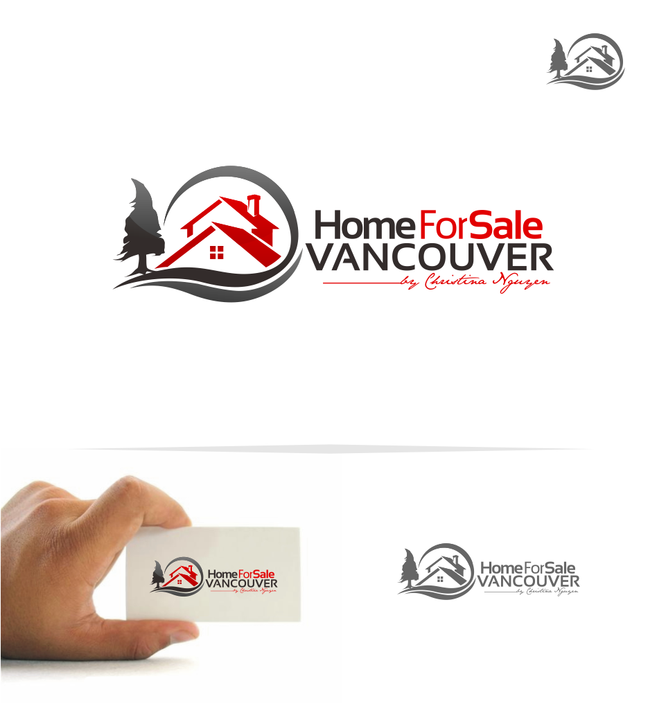 Logo Design by Mitchnick Sunardi - Entry No. 35 in the Logo Design Contest New Logo Design for HomeForSaleVancouver.