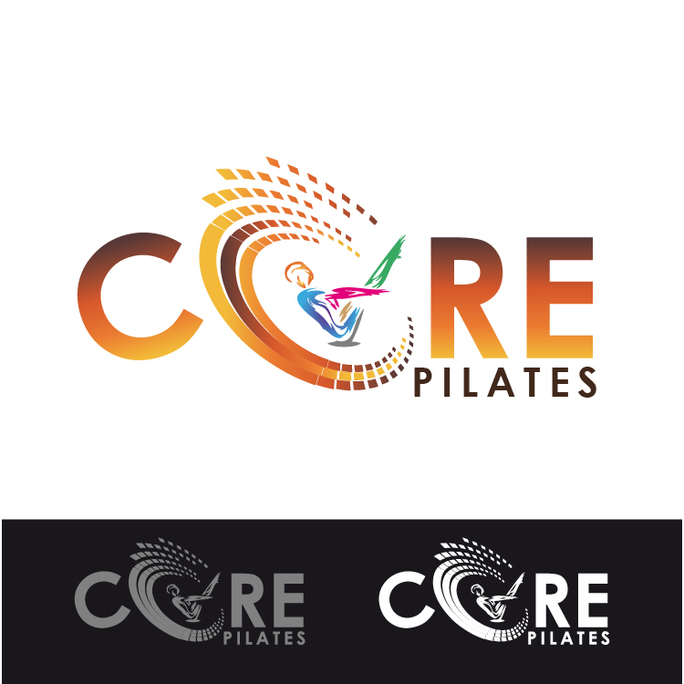 Logo Design by lagalag - Entry No. 186 in the Logo Design Contest Core Pilates Logo Design.