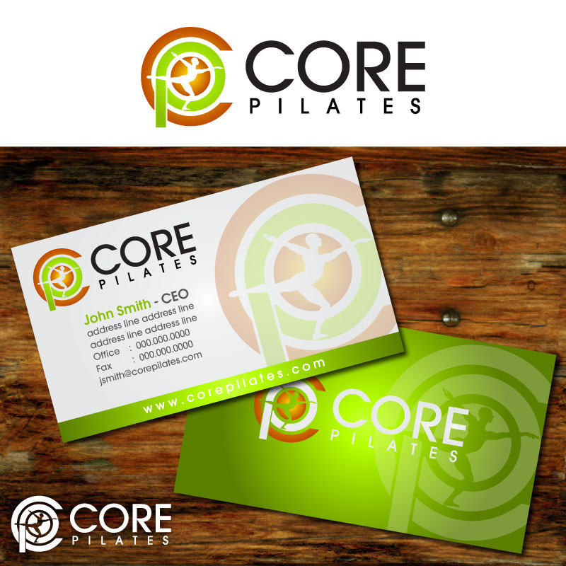 Logo Design by Rommel Delos Santos - Entry No. 192 in the Logo Design Contest Core Pilates Logo Design.