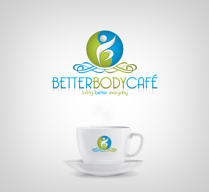Logo Design by nausigeo - Entry No. 19 in the Logo Design Contest New Logo Design for Better Body Cafe.