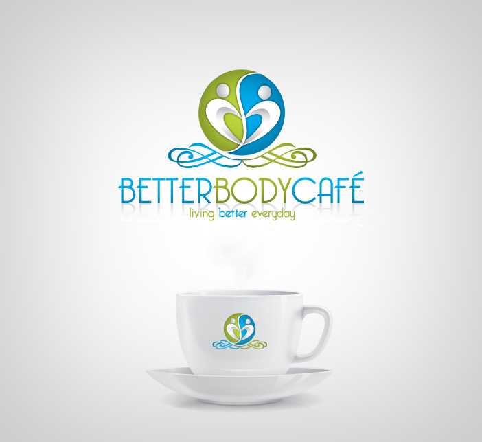 Logo Design by nausigeo - Entry No. 20 in the Logo Design Contest New Logo Design for Better Body Cafe.
