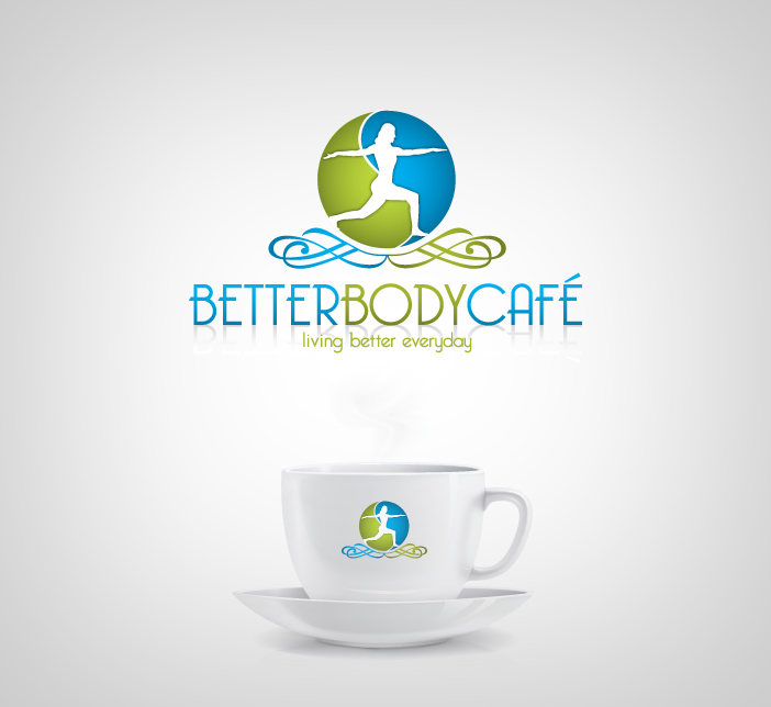 Logo Design by nausigeo - Entry No. 21 in the Logo Design Contest New Logo Design for Better Body Cafe.