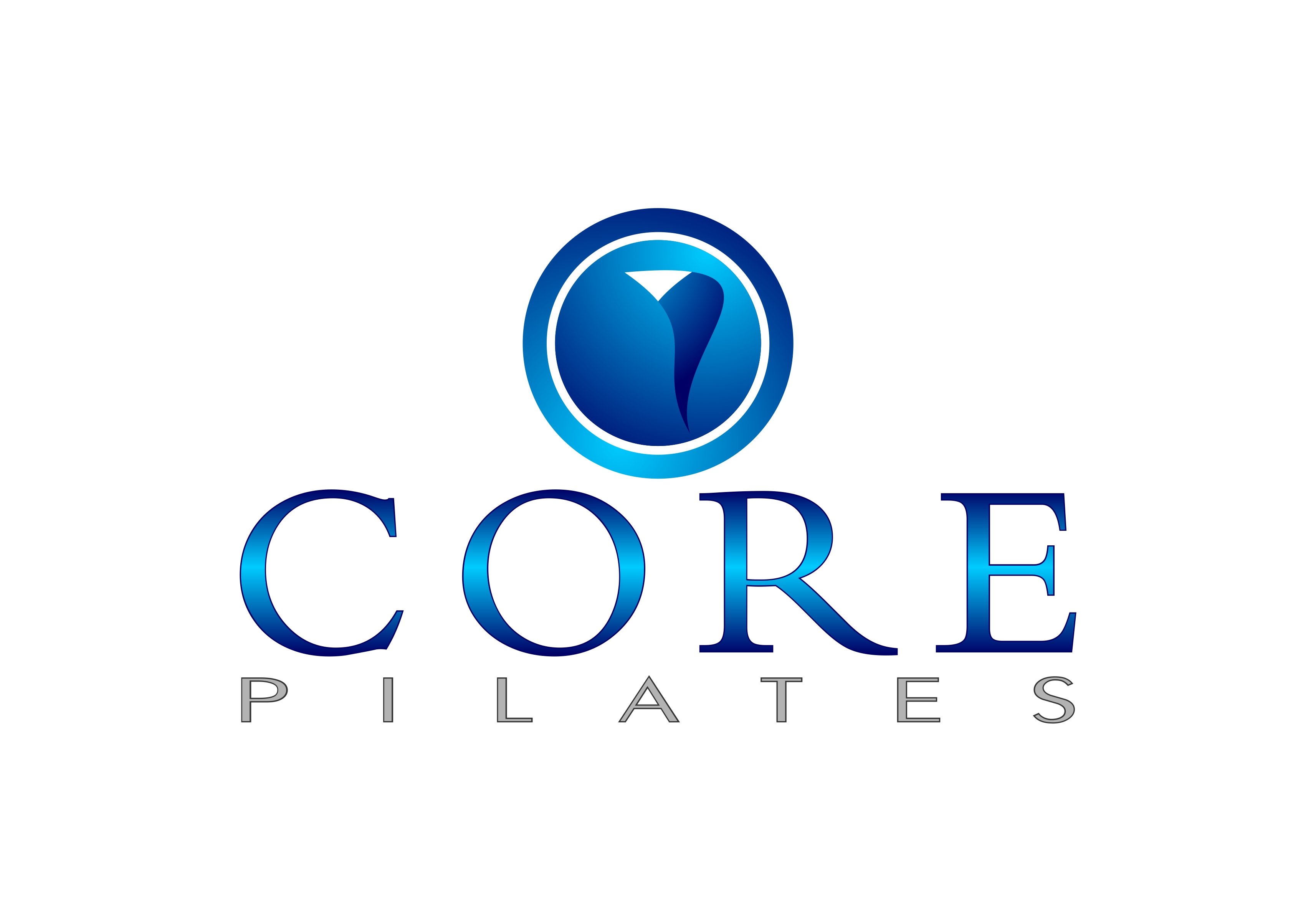 Logo Design by Fatih Ercan - Entry No. 204 in the Logo Design Contest Core Pilates Logo Design.