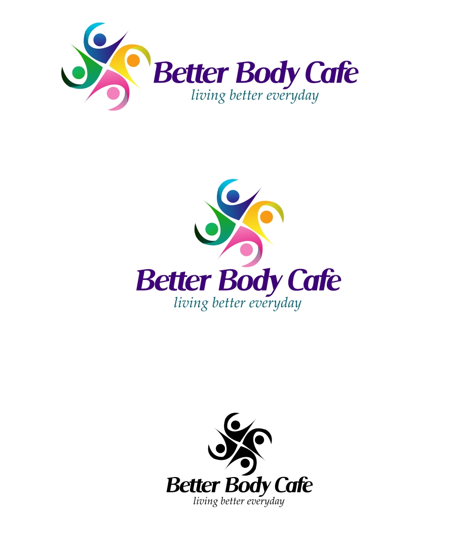 Logo Design by Private User - Entry No. 22 in the Logo Design Contest New Logo Design for Better Body Cafe.