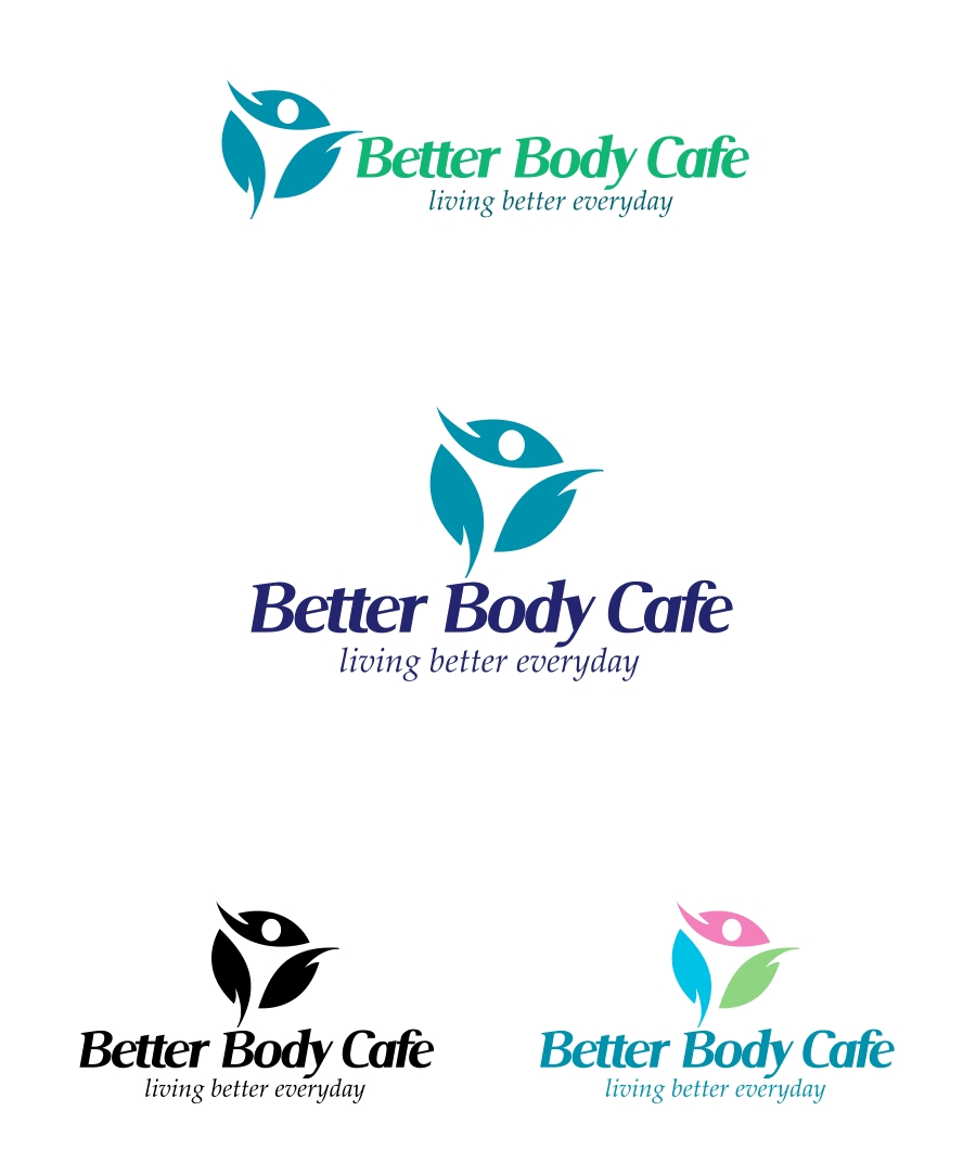 Logo Design by Private User - Entry No. 24 in the Logo Design Contest New Logo Design for Better Body Cafe.