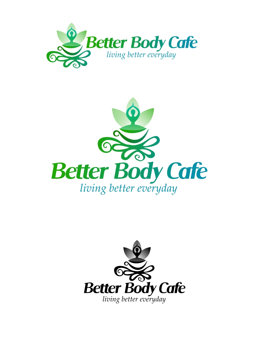 Logo Design by Private User - Entry No. 26 in the Logo Design Contest New Logo Design for Better Body Cafe.