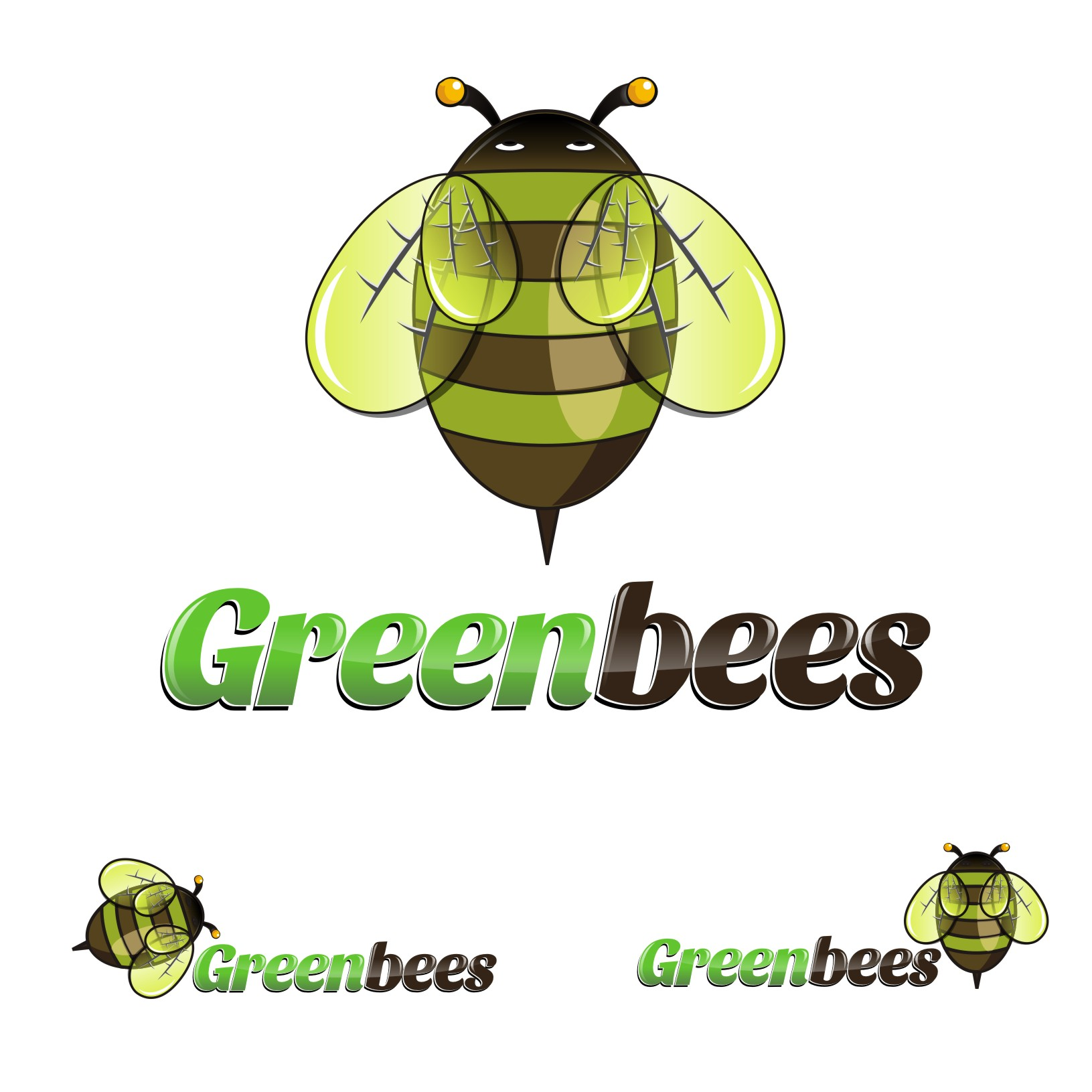 Logo Design by Private User - Entry No. 45 in the Logo Design Contest Greenbees Logo Design.
