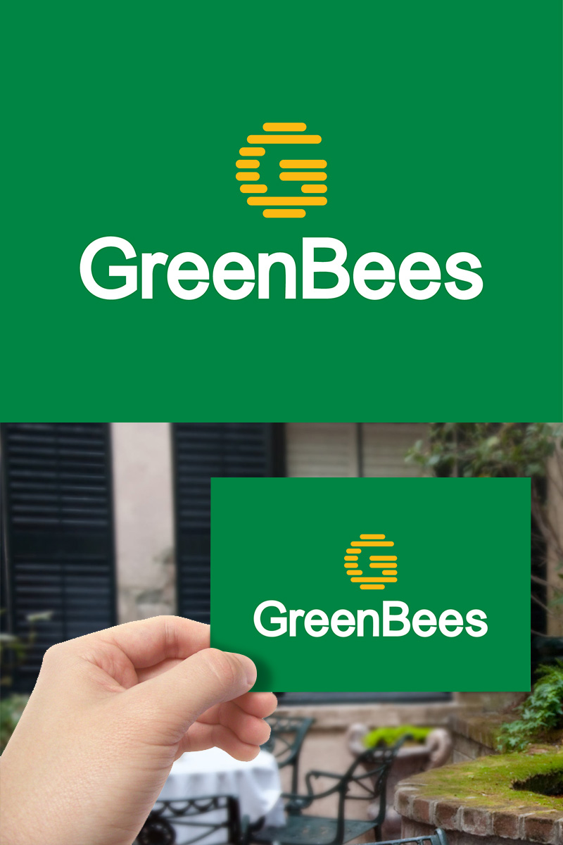 Logo Design by scorpy - Entry No. 46 in the Logo Design Contest Greenbees Logo Design.