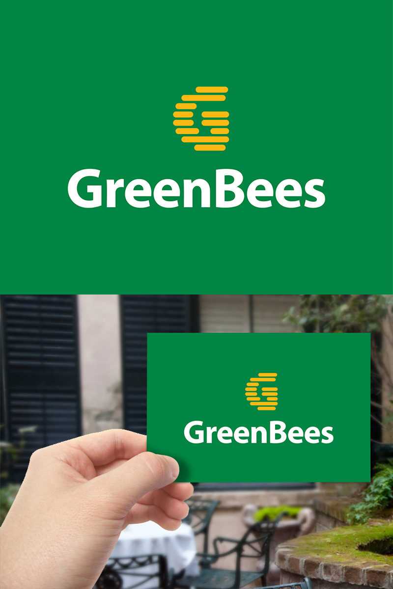 Logo Design by scorpy - Entry No. 47 in the Logo Design Contest Greenbees Logo Design.