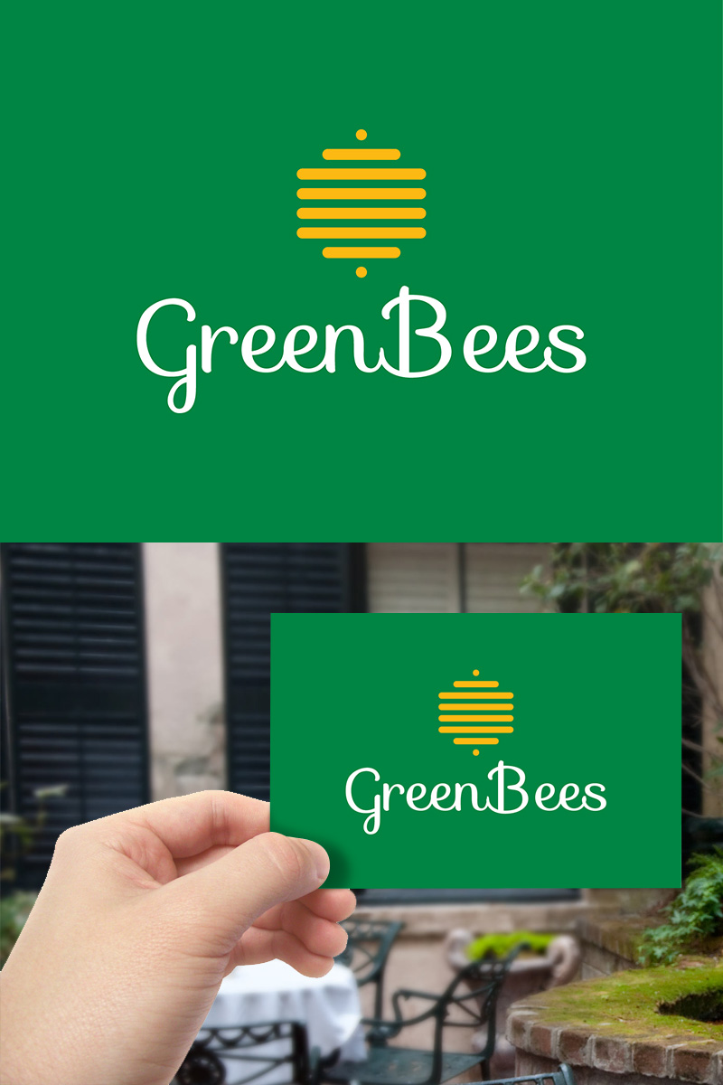 Logo Design by scorpy - Entry No. 48 in the Logo Design Contest Greenbees Logo Design.
