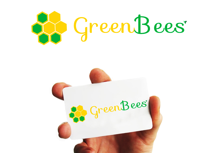 Logo Design by Mythos Designs - Entry No. 52 in the Logo Design Contest Greenbees Logo Design.