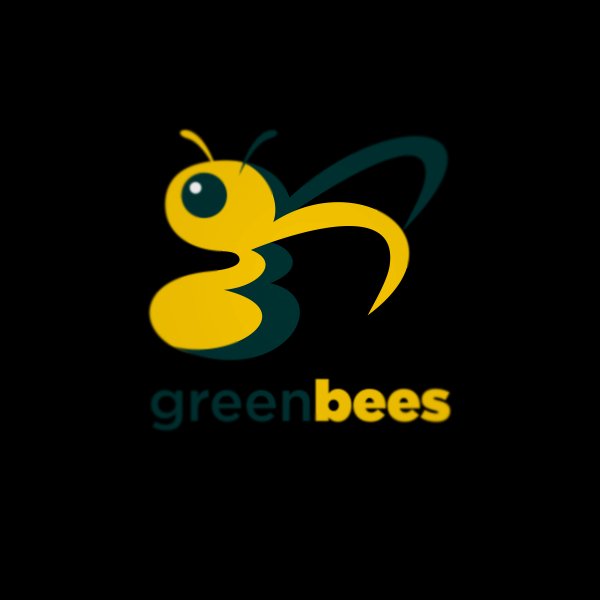 Logo Design by Private User - Entry No. 54 in the Logo Design Contest Greenbees Logo Design.