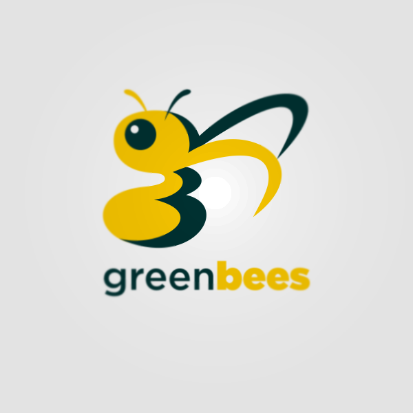 Logo Design by Private User - Entry No. 55 in the Logo Design Contest Greenbees Logo Design.