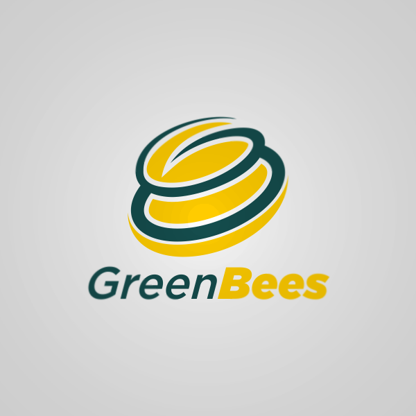 Logo Design by Private User - Entry No. 58 in the Logo Design Contest Greenbees Logo Design.