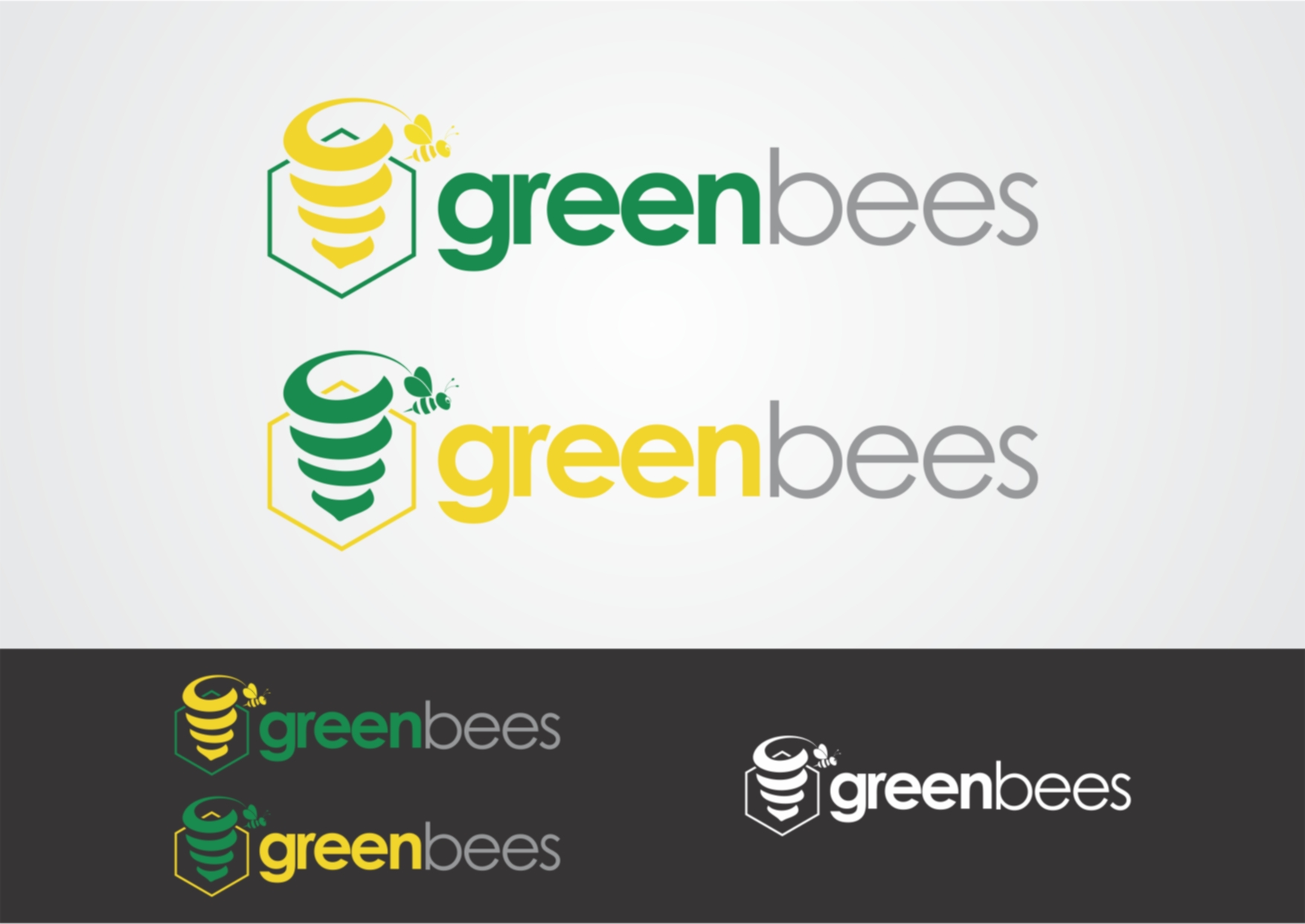 Logo Design by Private User - Entry No. 59 in the Logo Design Contest Greenbees Logo Design.