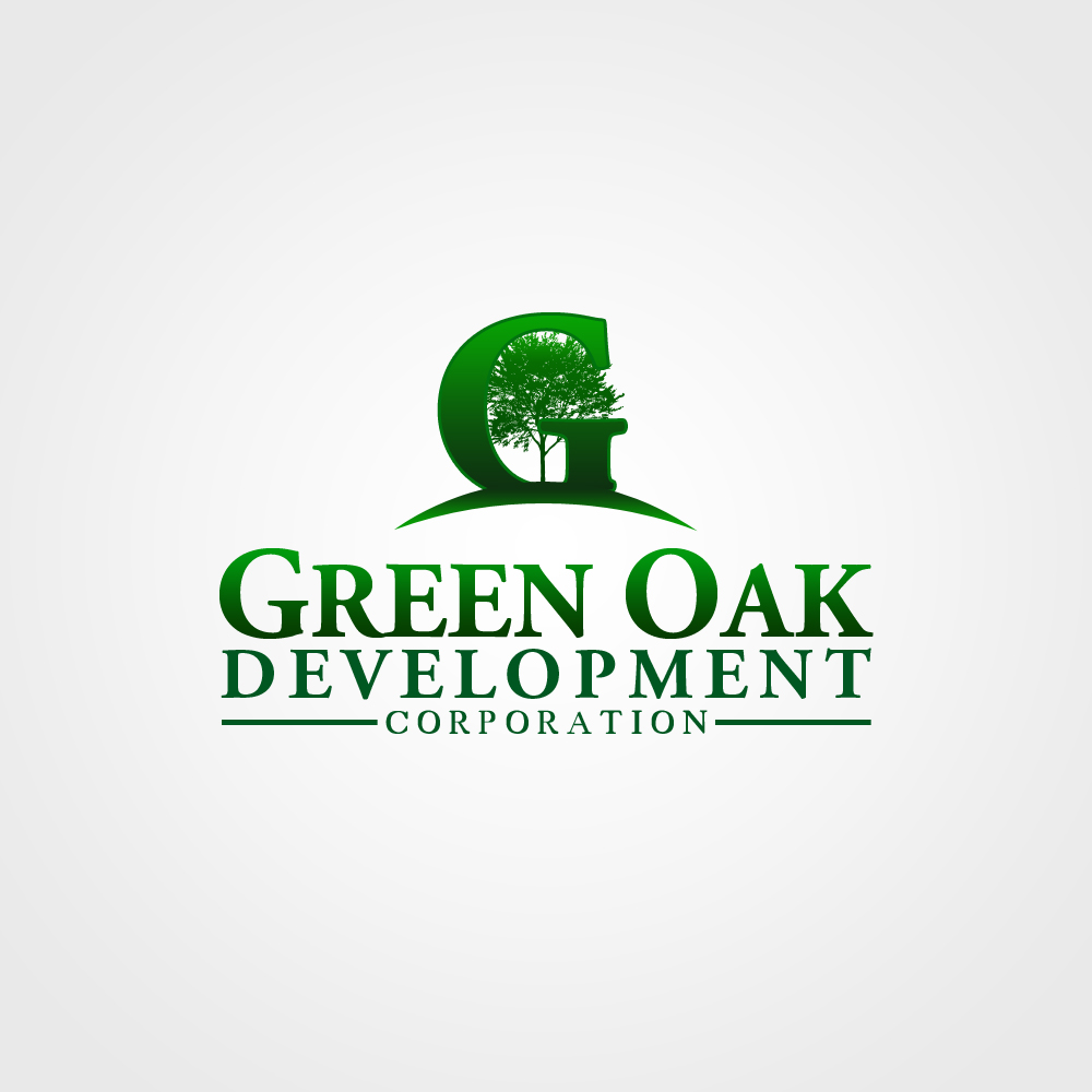 Logo Design by omARTist - Entry No. 130 in the Logo Design Contest Unique Logo Design Wanted for Green Oak Development Corp..